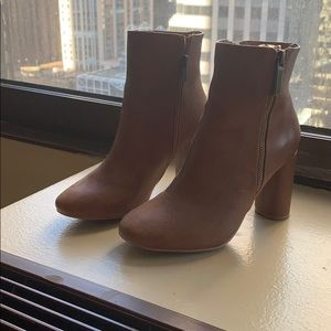 Size 6 brown / tan boots from ASOS